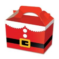 Father Christmas Santa Tunic Suit Meal Party Box